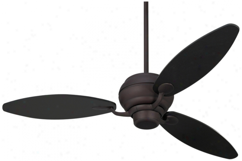 "60"" Spyder™ Espresso Three Blades Ceiling Fan (r2185-r2450)"