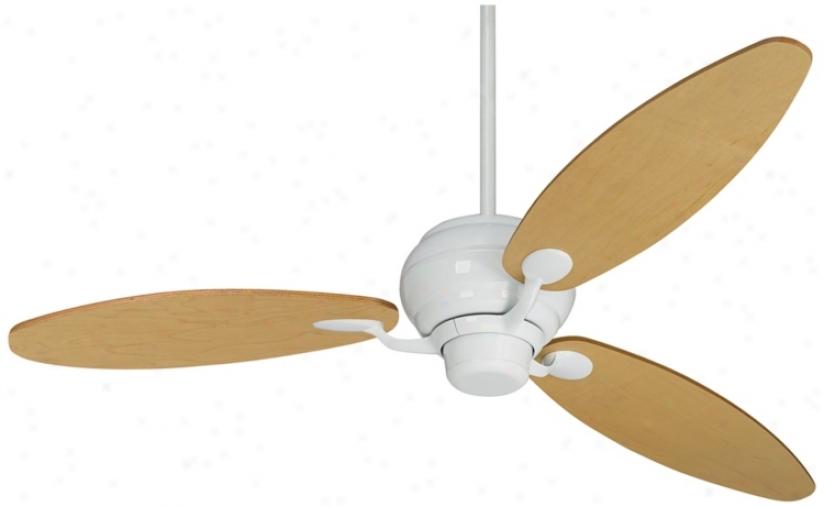 "66"" Spdyer™  Three Blades White Ceiling Fan (r2182-r2483)"
