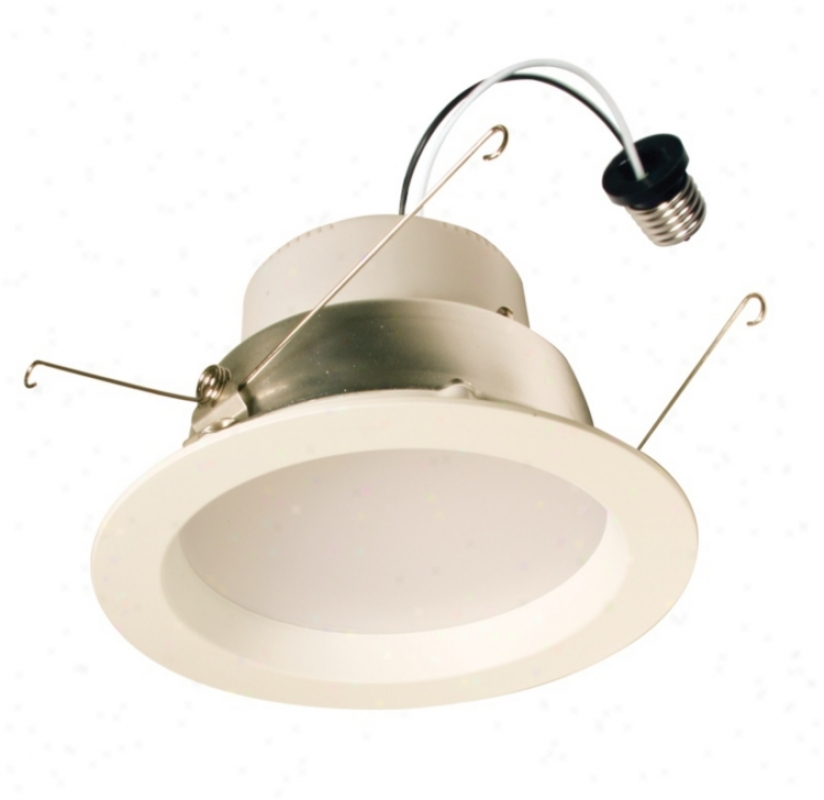 "6"" 3000k Led Downlight/wt (u5195)"