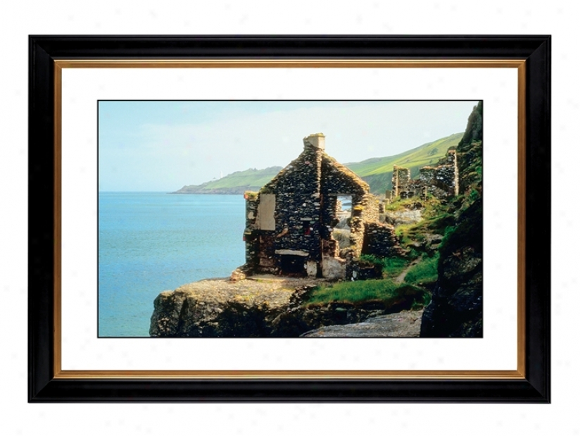 "Abandoned Seaside Cottage Giclee 41 3/8"" Wide Wall Art (56130-80384)"