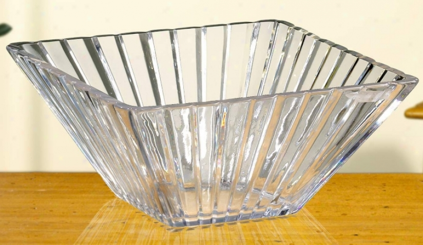 "Alexandria 11"" Suit Crystal Bowl (g5215)"