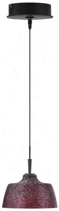 Alico Glacier Collo Ice Wine Bronze Mini Pendant (p6893-p8012)