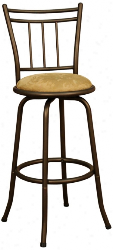 "American Inheritance Anassa Topaz 24"" High Counter Stool (u4582)"