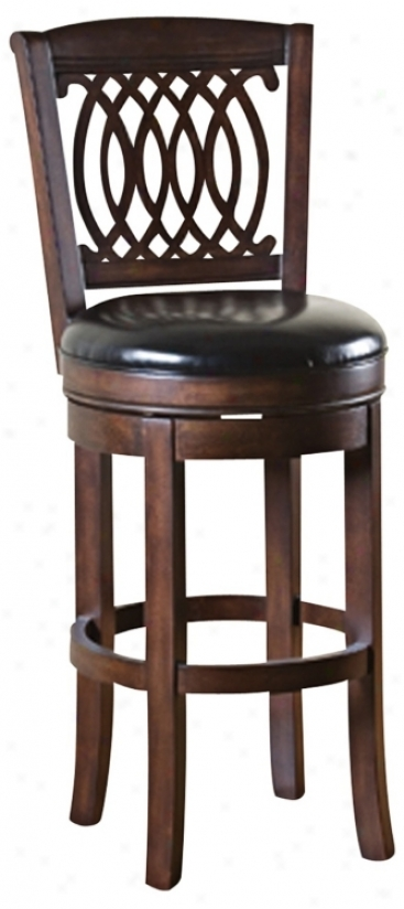 "American Heritage Atwood 24"" High Contrary Stool (n0804)"