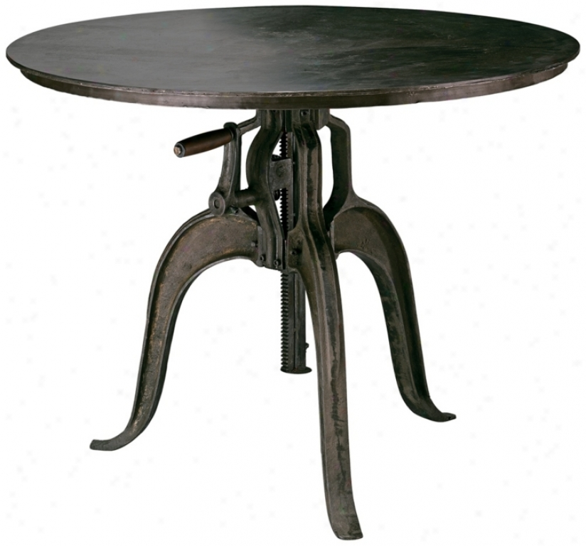 Americana Large Adjustable Crank Table (u2301)