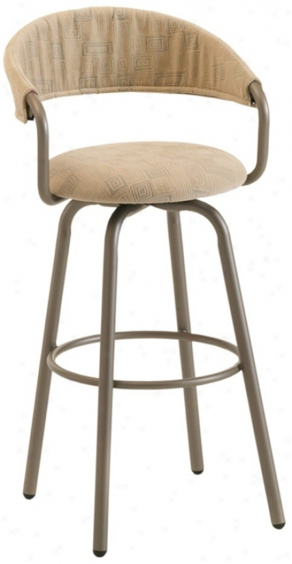 "Amisco Emi Chai 26"" High Swivel Counter Stool (m9231)"