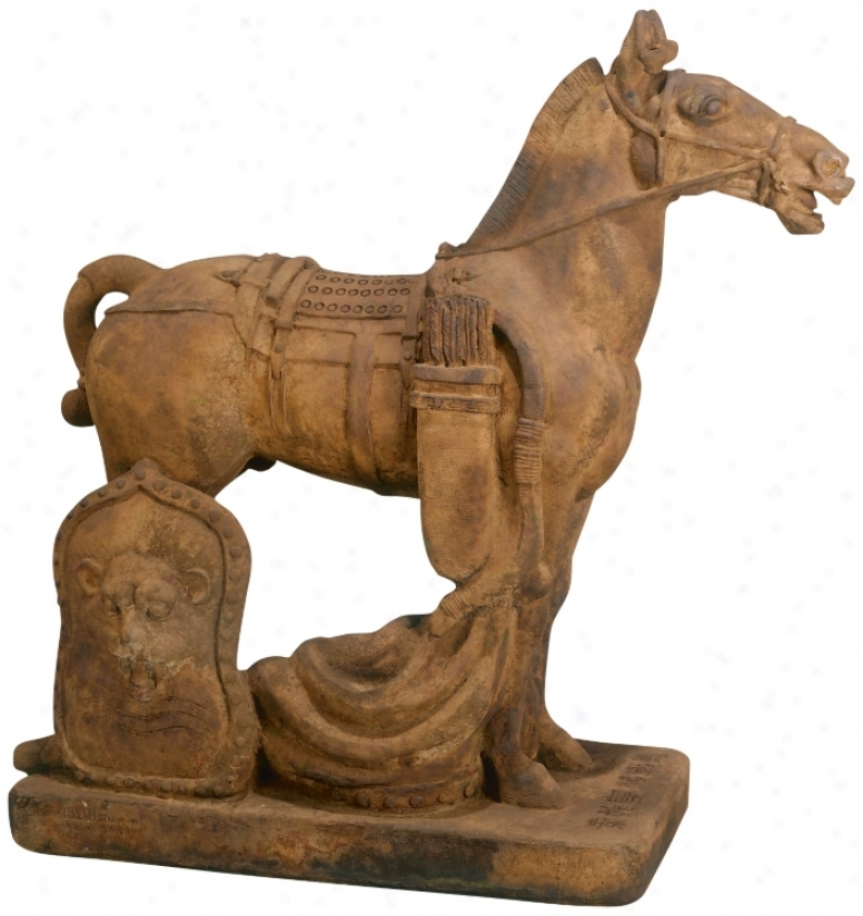 Of great age Cavalry Horse Garden Intonation (33379)