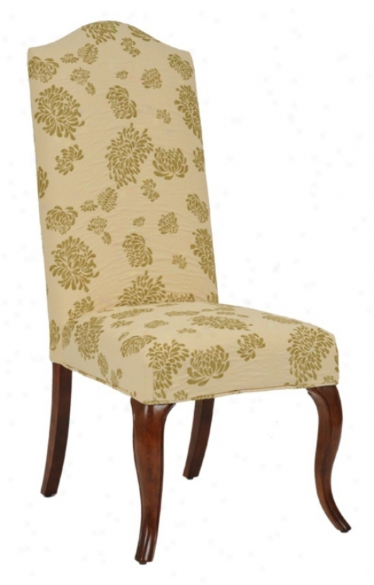 Apple Slipco\/ered High Camel Back Armless Dininv Chair (m5095-m5134)