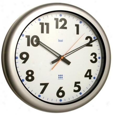 "Aquamaster White16"" Wiee Waterproof Wall Clock (p7896)"