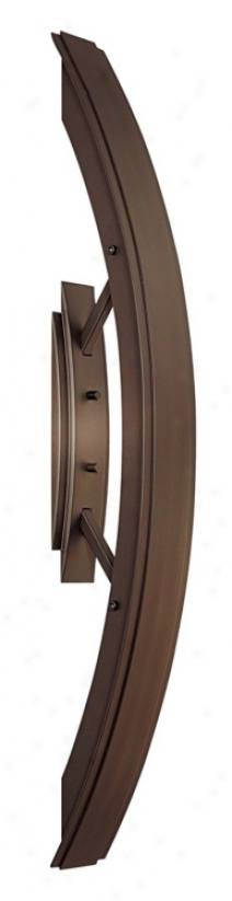 Arch Bronze 24 1/4&uqot; High Ada Outdoor Wall Light (h0754)