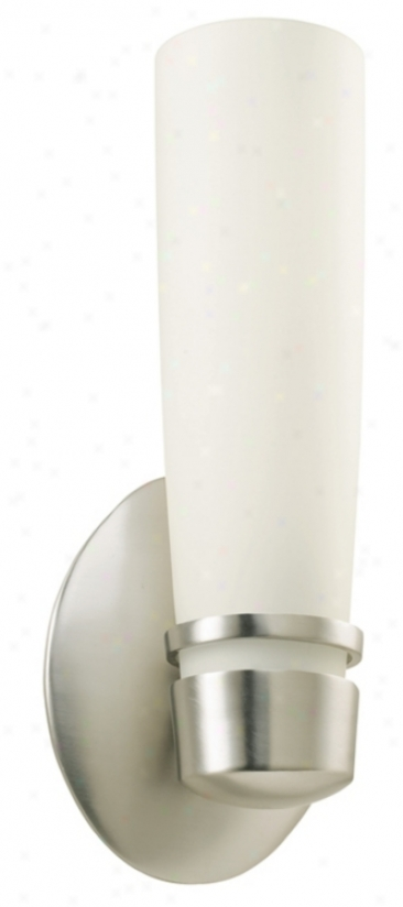 """Aria 11"""" High Ada Fluorescent Brushed Wall Sconce (g2628)"""