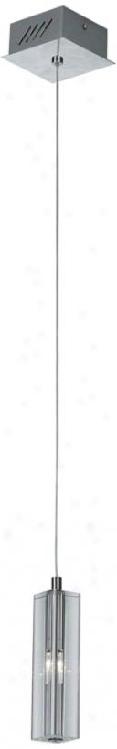 "Artcraft Berkenton 5"" Wide Chrome Pendant Light (h2943)"