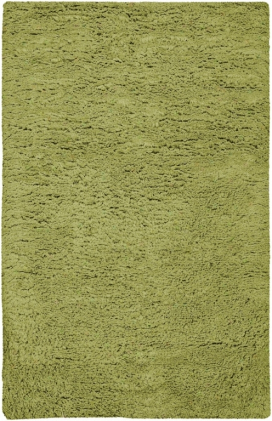Ashley Collection Lime Green 8'x8' Square Area Rug (n2389)