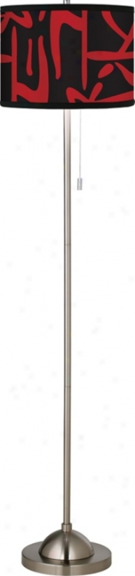 Asian Flair Giclee Floor Lamp (99185-84792)