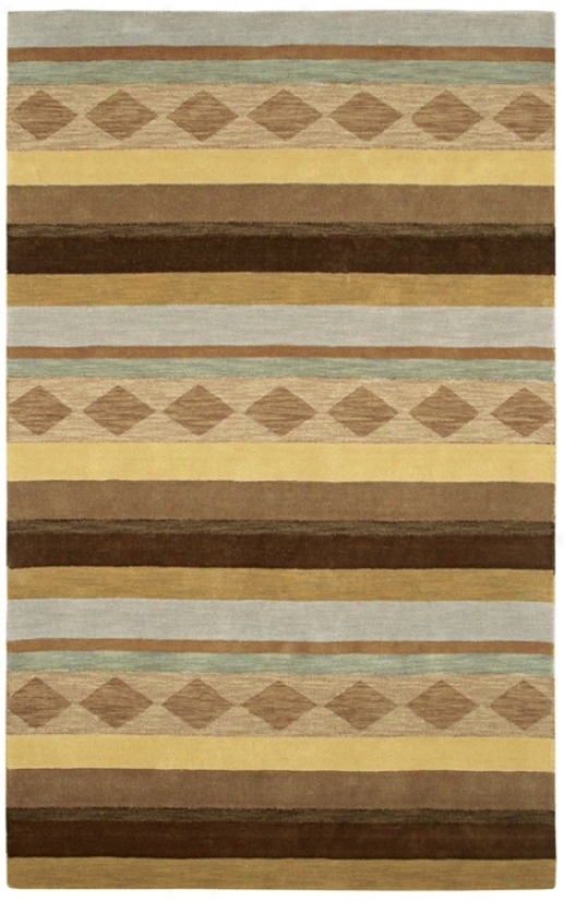 "Auckland Collection Aurora Wool 2'6""x8' Runner (m0927)"