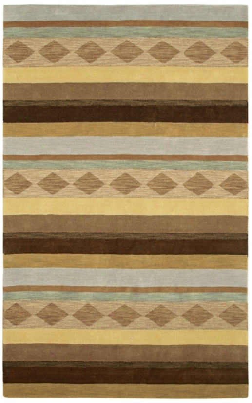 Auckland Collection Aurora Wool 3'x5' Area Rug (m0925)