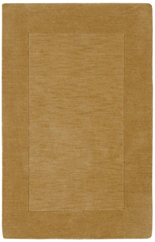 Auckland Collection Cappuccino Wool 2'x3' Area Rug (m0986)