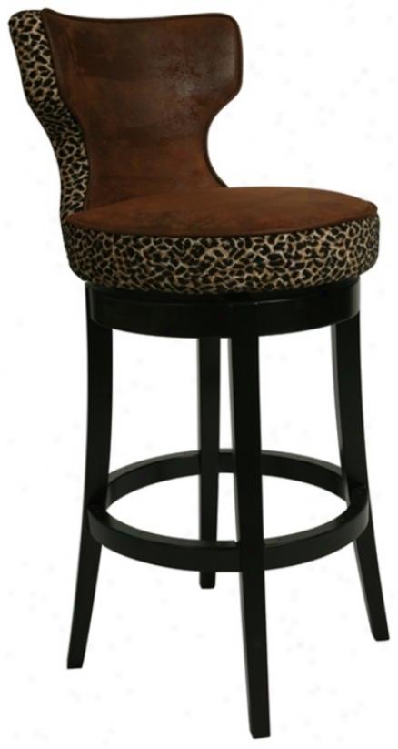 "Augusta Leopard Swivel 30"" High Bar Discharge (p6422)"