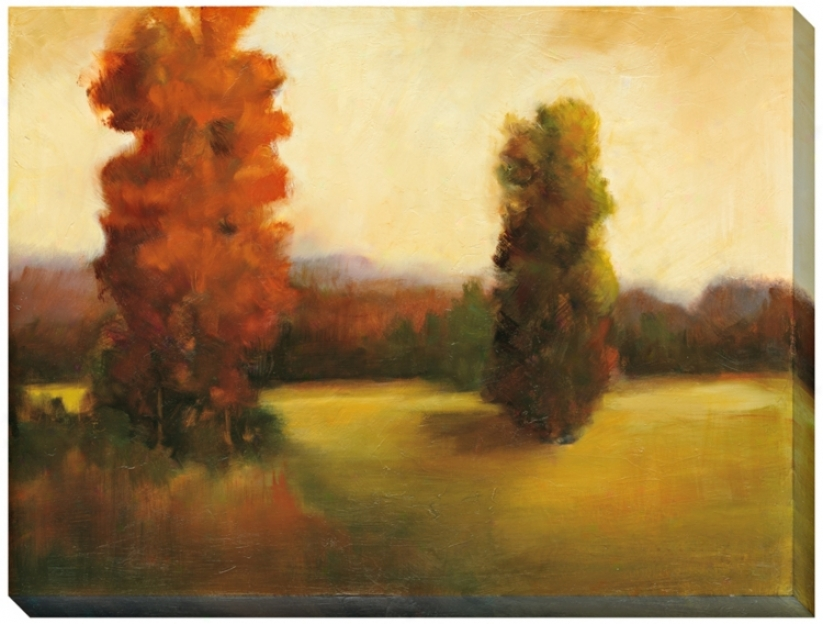 "Autumn Dusk Ii Giclee Print Indoor/outdoor 48"" Wide Wall At (l0362)"