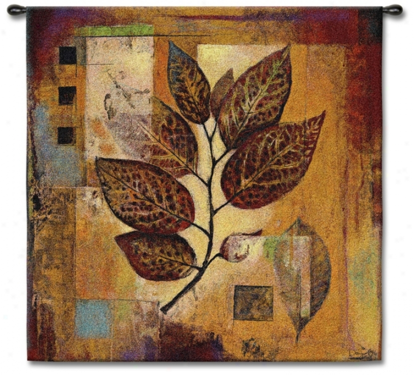 "Autumnal Modernity 35"" Square Wall Tapestry (j8638)"