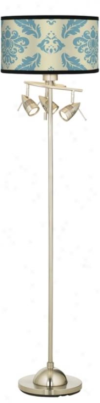 Azure Crest Giclee 4 Lightt Floor Lamp (84019-87791)