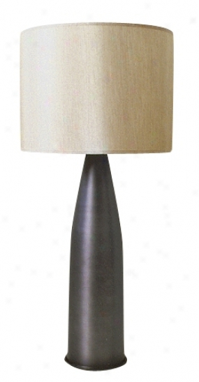 Bavette Holland Charcoal Val Table Lamp (97935)