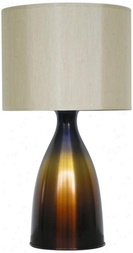 Babetts Holland Nina Bronze Burst Table Lamp (v5390)