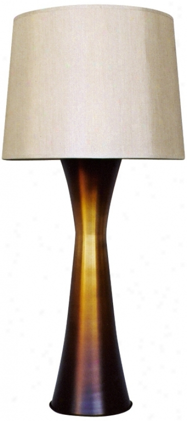 Babette Hklland Skyscraper Alloy of copper Flat Lamp (08774)