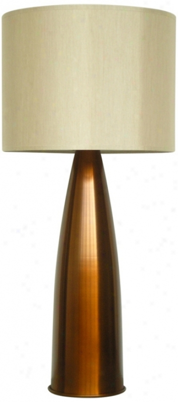 Babette Holland Val Brass Fade Modern Food Lamp (v5267)
