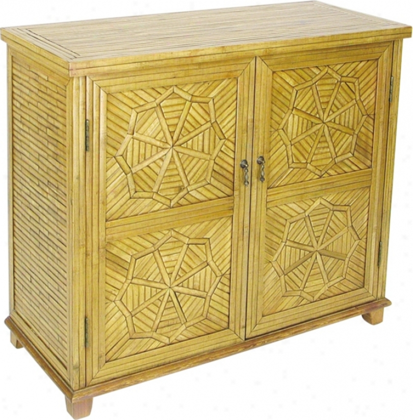Bamboo Lacquered Accomplish Cabinet (h2233)
