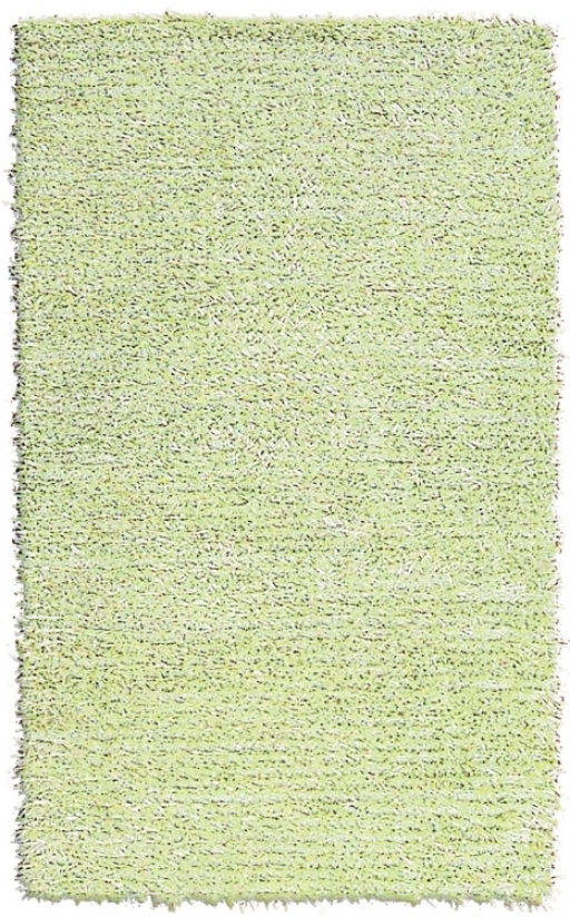 "Barrier Reef Kids Sage Shag 2' 8""x4' 8"" Area Rug (f7223)"