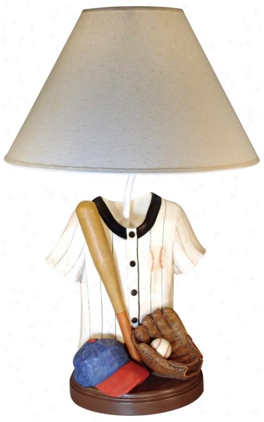 Baseball Jersey Table Lamp (g0602)