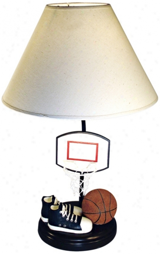 Basketball Bind Table Lamp (j2566)