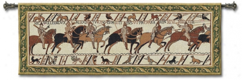 "Bayeux 76"" Spacious Wall Tapestry (j8667)"
