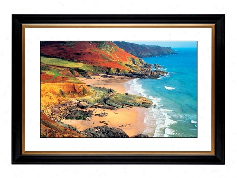 "Beach Hideaway Giclee 41 3/8"" Wide Wall Art (56077-80384)"