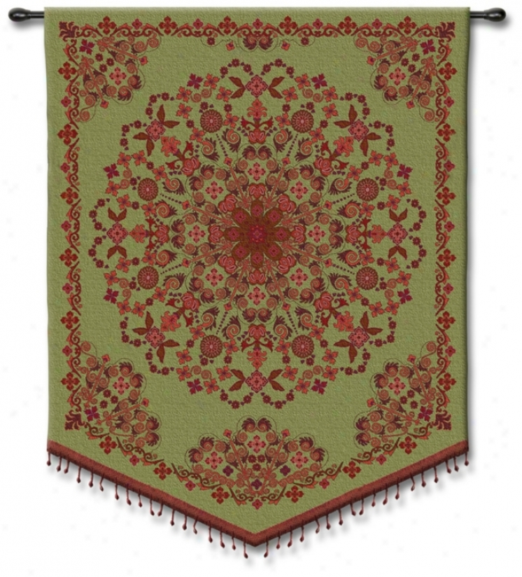 "Bezded Indian 53"" High Tapestry (j8708)"