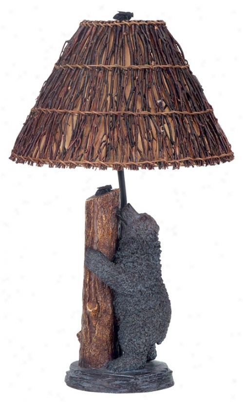 Bear And Bee Table Lamp (00599)