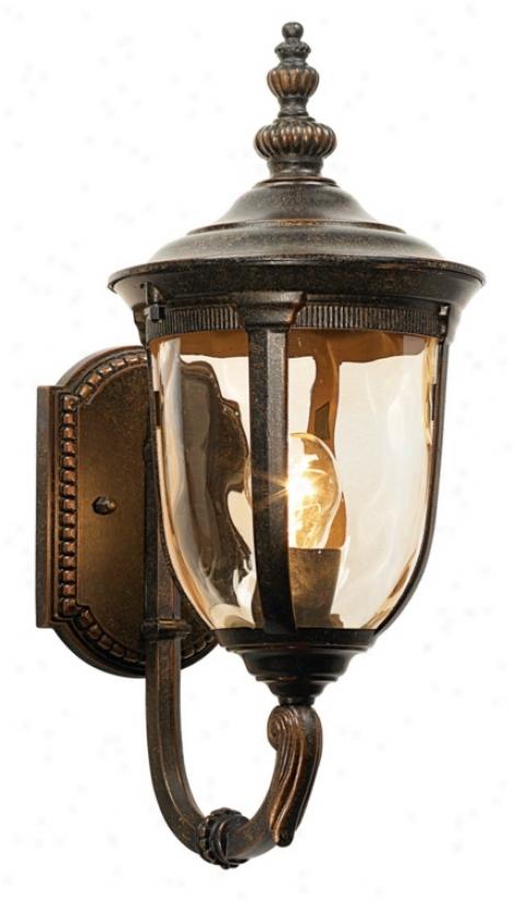 "Bellagio&8482; 16 1/2"" High Upbridge Arm Outdoor Wall Light (50323)"