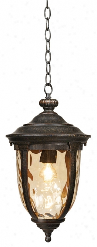 "Bellagio™ Collection 18"" High Outdoor Hanging Light (40379)"
