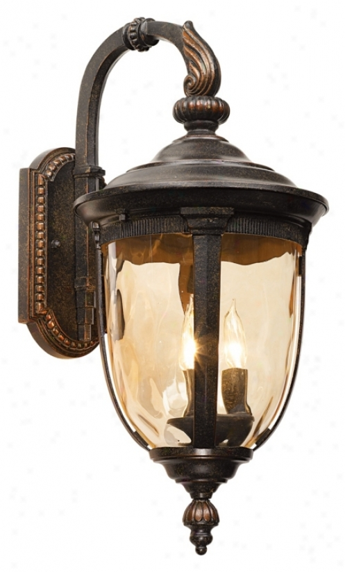 "Bellagio™ Collection 20 1/2"" High Outdoor Wall Light (90534)"