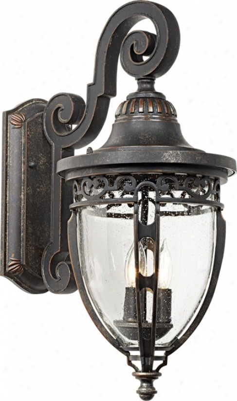 "Bellisimo Collection 21"" High Exterior Wall Light (16244)"