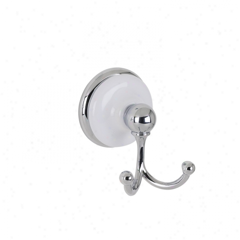 Bellissima Chrome Fniish Robe Hook (29497)