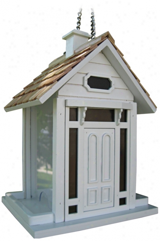 Bellport White Bird House (m8927)