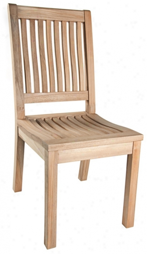 Outdoor Wood Dining Chair