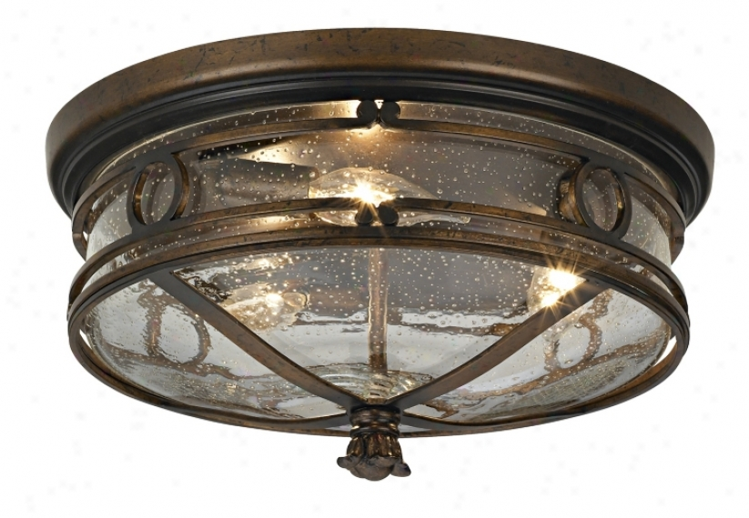 "Beverly Drive 14"" Wide Outdoor Ceiling Light (69995)"