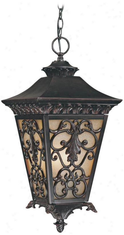 "Bientina Collection 23 1/4"" High Outdoor Hanging Light (j6969)"