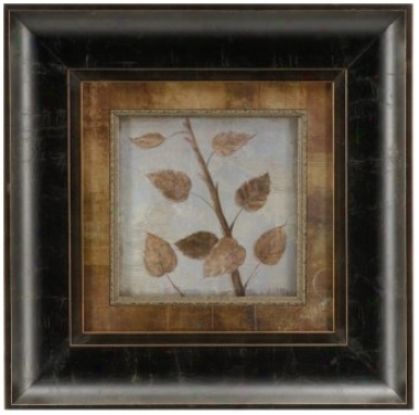 "Birch Framed 12"" Square Wall Practical knowledge (j4160)"