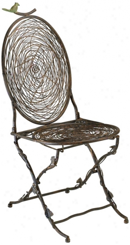 Bird Folding Chair (n3861)