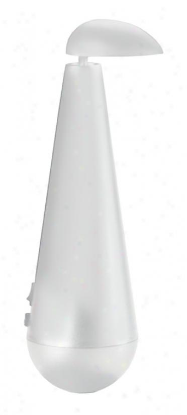 Birillo White Accent Lamp (g6741)