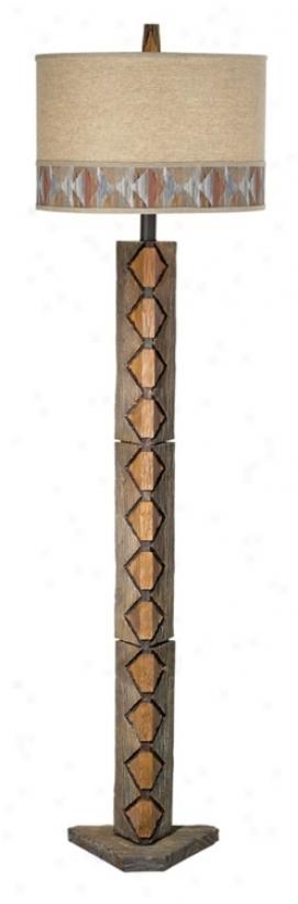 Bistri Badlands Floor Lamp (j0919)